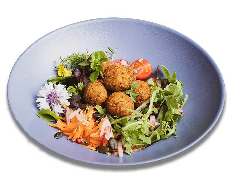 Falafel-Salatbowl