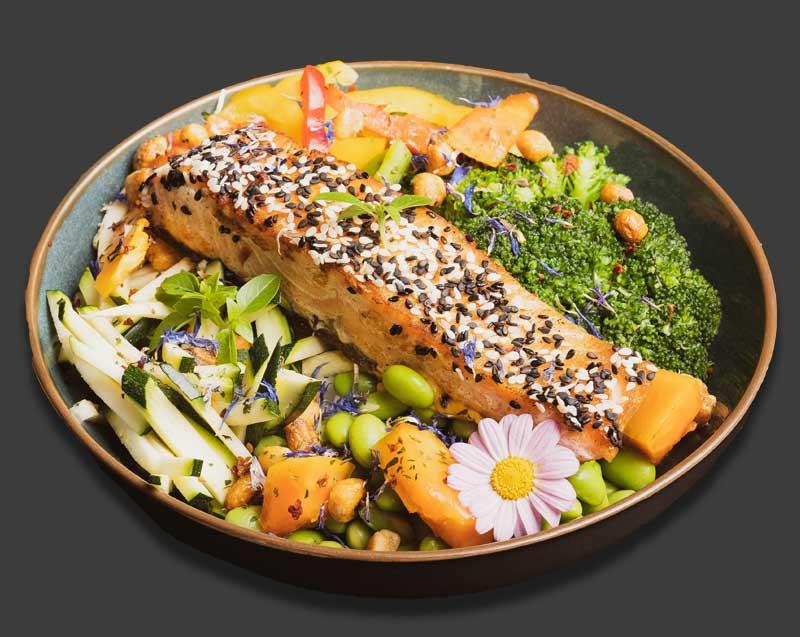 Salmon-Bowl